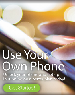 Unlock your phone, use our plan, and SAVE!